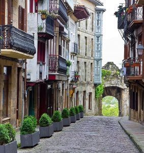 Calle Mayor, Hondarribia