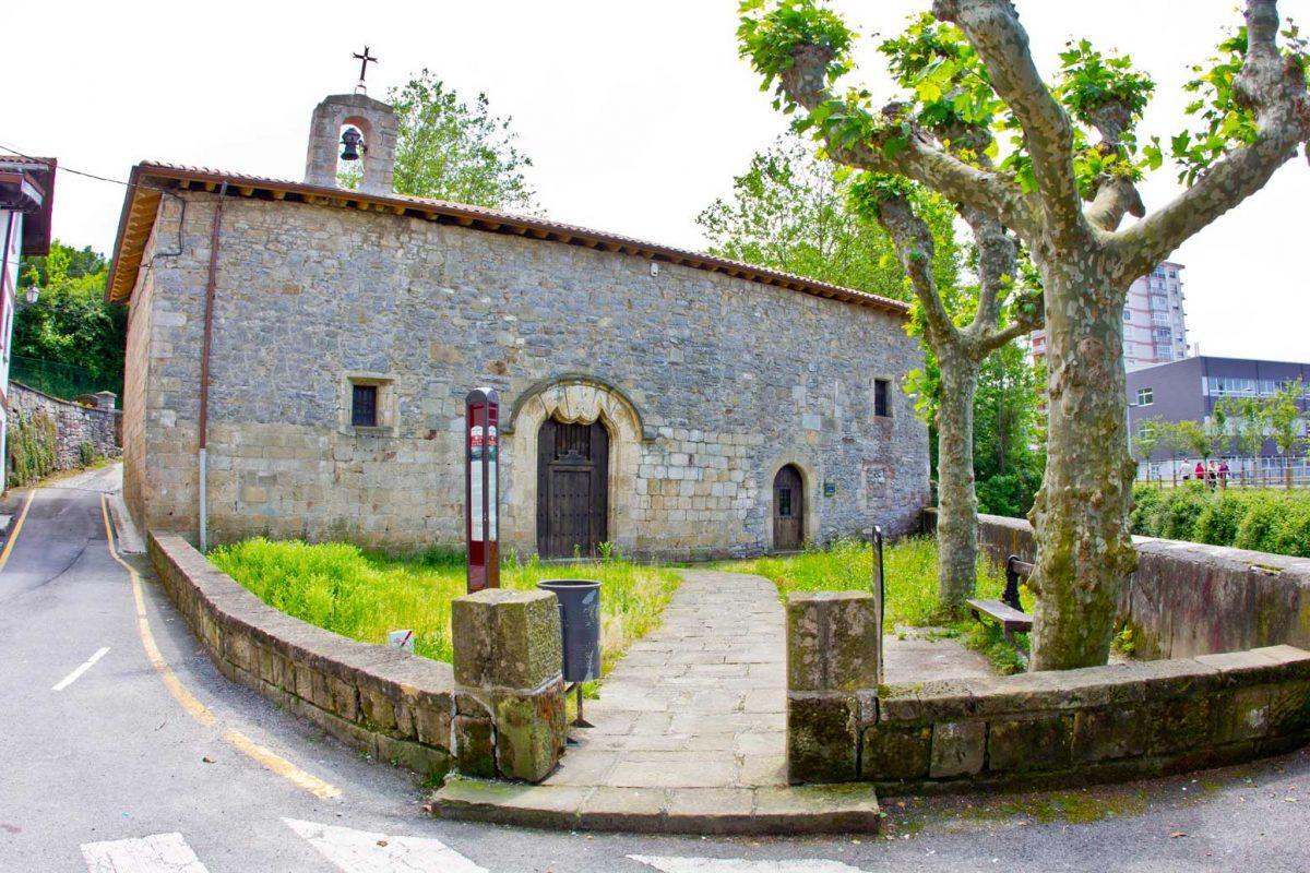 Ermita de Santa Elena. Ama Xantalen.