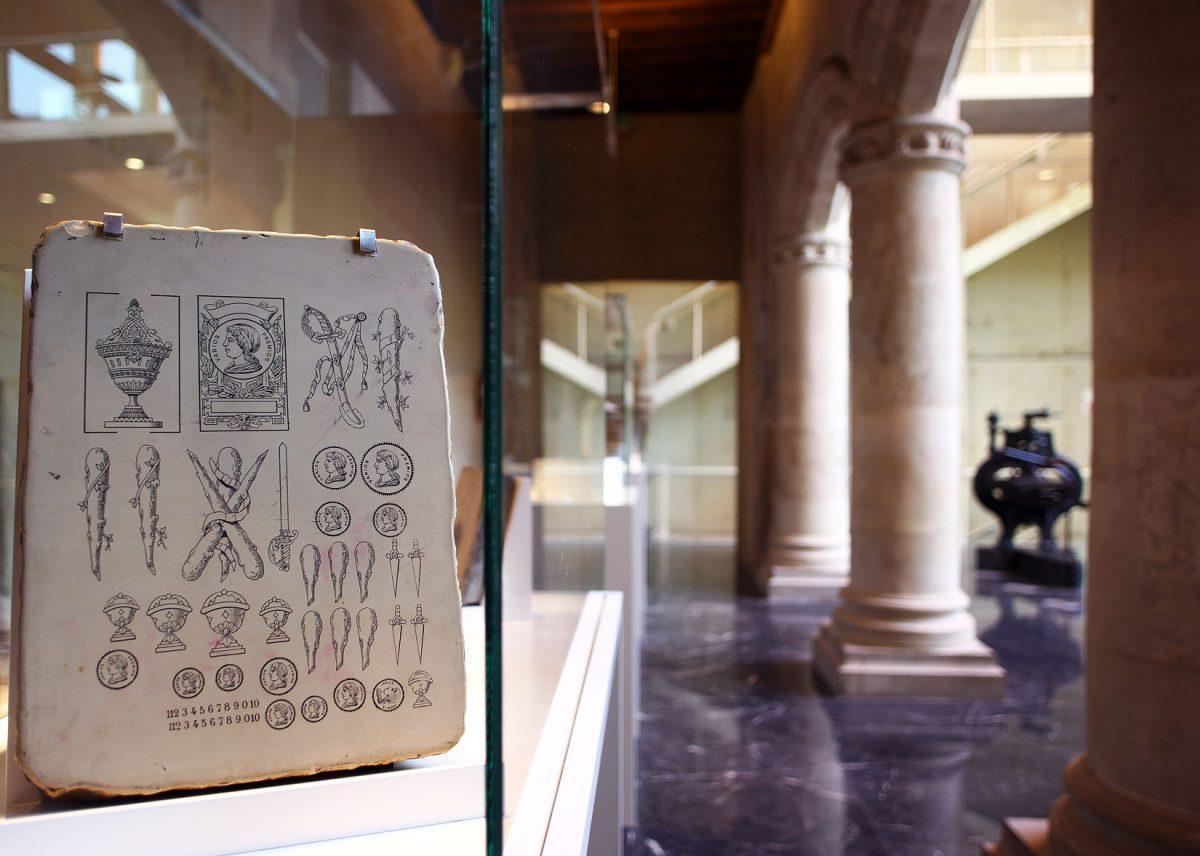 Museo Bibat, Arkeologia, Fournier de Naipes Museoa