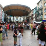 Popular open-air dances