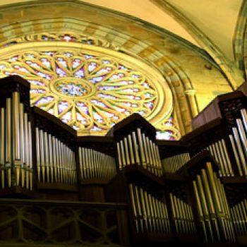 Santiago Cathedral. Pipe organ
