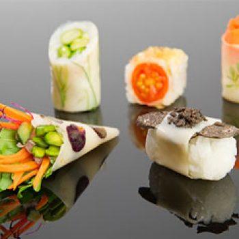 Familia de Sushi con patata
