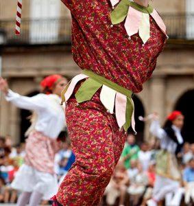 Folclore en Bilbao