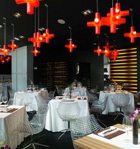 Restaurante Cube en el museo Artium